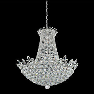 Treviso 18K Gold 21-Light Chandelier with Firenze Clear Crystal