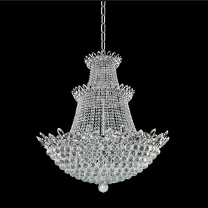 Treviso 18K Gold 27-Light Chandelier with Firenze Clear Crystal