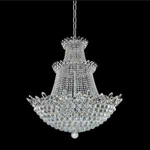 Treviso 18K Gold 30-Light Chandelier with Firenze Clear Crystal