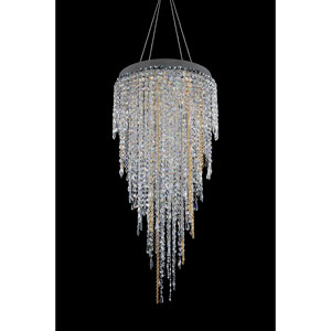 Tenuta Chrome 10-Light Chandelier with Firenze Clear Crystal