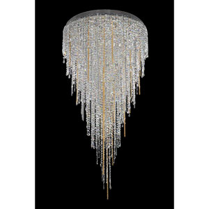 Tenuta Chrome 21-Light Chandelier with Firenze Clear Crystal