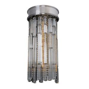 Zurbaran Chrome 30-Inch High LED Convertible Flush Mount