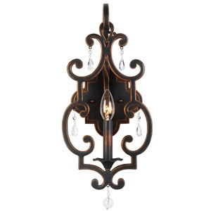 Montgomery Antique Copper One-Light Wall Sconce