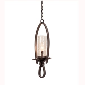 Grayson Heirloom Bronze One-Light Mini Pendant