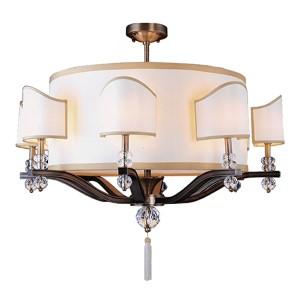 Sutton Antique Brass 16-Light Chandelier