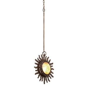 Polaris Florence Gold One-Light Mini Pendant