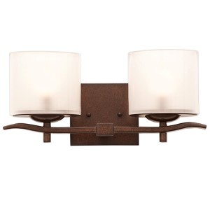 Stapleford Tuscan Sun Two-Light Bath Fixture