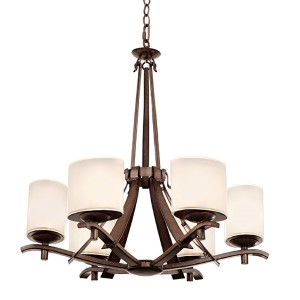 Stapleford Tuscan Sun Six-Light Chandelier