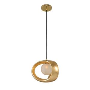 Calistoga Gold Leaf One Light Pendant