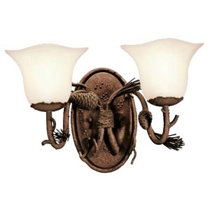 Ponderosa Double Wall Sconce