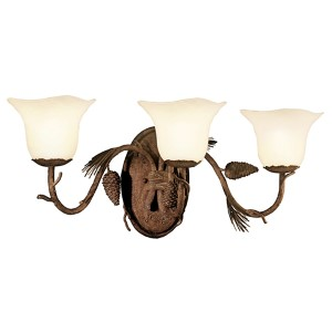 Ponderosa Three-Light Bath Fixture