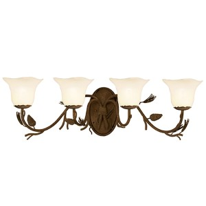 Ponderosa Four-Light Bath Fixture