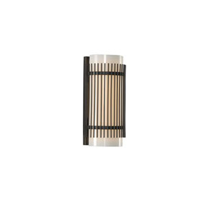 Edgewater English Bronze LED Ten Inch Bath Sconce