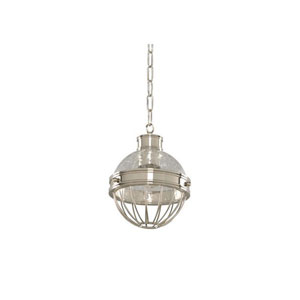 Montauk Polished Nickel One Light Mini Pendant