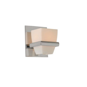Malibu Chrome One Light Bath Sconce