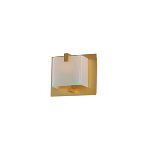 Meridian Gold One Light Bath Sconce