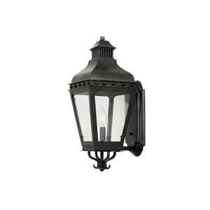 Winchester Aged Iron 1-Light 8-Inch Outdoor Wall Bracket