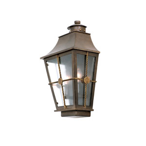 Belle Grove Aged Bronze 2-Light 10.25-Inch Outdoor Wall Pocket
