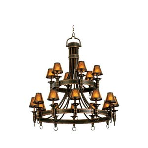 Americana Eighteen-Light Chandelier