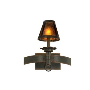Americana Antique Copper One-Light Wall Sconce