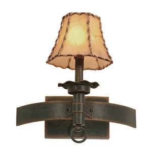 Americana Antique Copper One-Light Wall Bracket