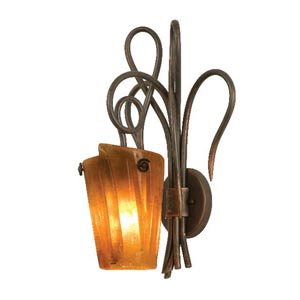 Tribecca Antique Copper One-Light Wall Sconce