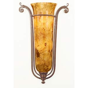 Somerset Tortoise Shell Wall Sconce