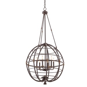 Larson Tawny Port Six-Light Pendant
