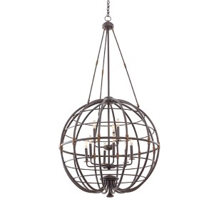 Larson Tawny Port Nine-Light Pendant