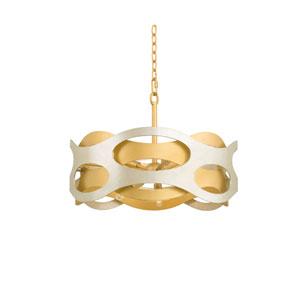 Lodi Jewel Metallic Six Light Pendant