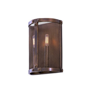 Chelsea Copper Patina 2-Light 8.5-Inch Wall Bracket
