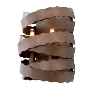 Fulton Brownstone 2-Light 9.25-Inch Wall Sconce