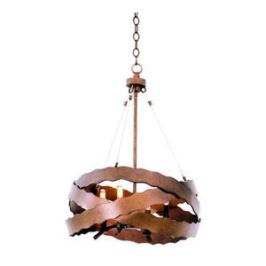Fulton Brownstone 4-Light 20-Inch Mini Pendant