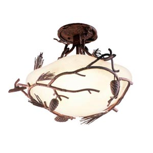 Ponderosa  Semi-Flush Ceiling Light
