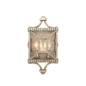 Crystal Cove Platinum Two Light Wall Sconce