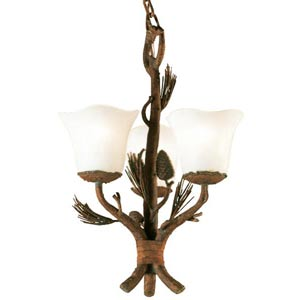 Ponderosa  Three-Light Chandelier