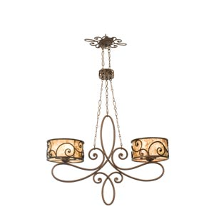 Windsor Ten-Light Island Pendant