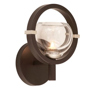 Lunaire Old Bronze One-Light Wall Bracket