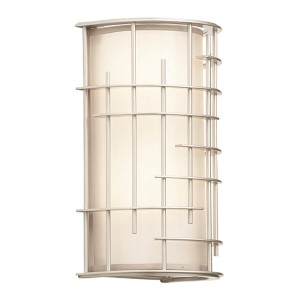 Atelier Tarnished Silver Two-Light Vertical Wall Sconce