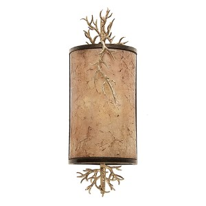 Oakham Bronze Gold Four-Light Wall Sconce