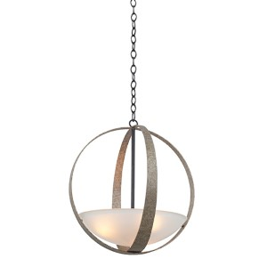 Irvine Vintage Iron Three-Light Pendant