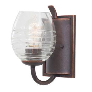 Seabrook Moon Silver 1-Light 5-Inch Bath Light