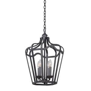Livingston Charcoal Six-Light Small Lantern