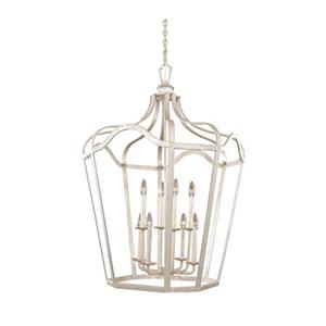 Townsend Pearl Silver Six Light Pendant