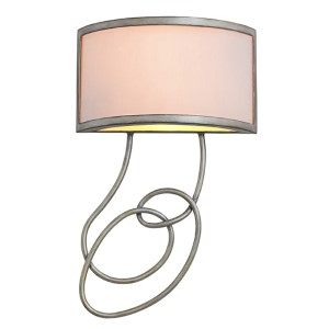 Concord Aged Silver Six-Light Wall Sconce
