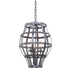 Townsend Vintage Iron Three-Light Lantern