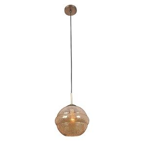 Celine Chemical Bronze One-Light Medium Pendant