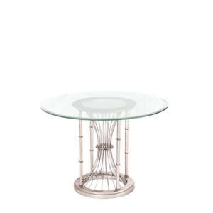 Bal Harbour Pearl Silver Thirty Inch Accent Table