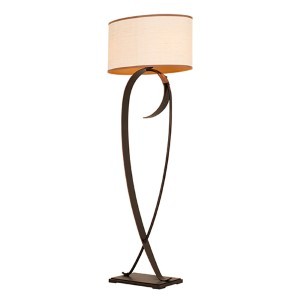 Rodeo Drive Antique Copper Two-Light Floor Lamp