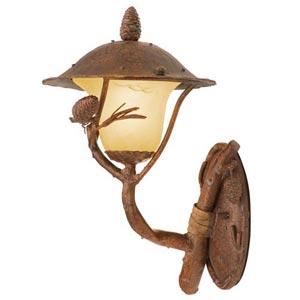 Ponderosa Small Outdoor Wall-Mounted Lantern